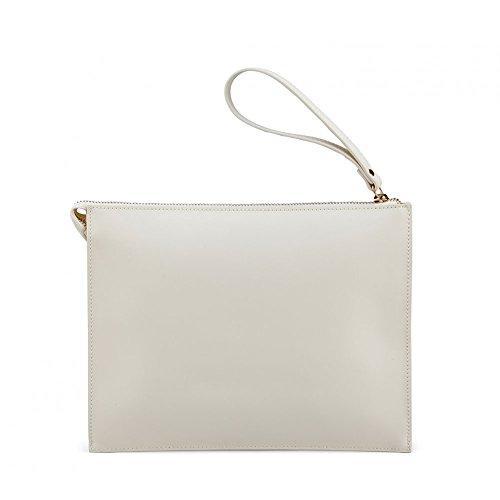 Borsa pochette porta mini tablet | Jacky & Celine Iris Fior Di Baci | P/E 2016 | S16A40207PE16-Cream