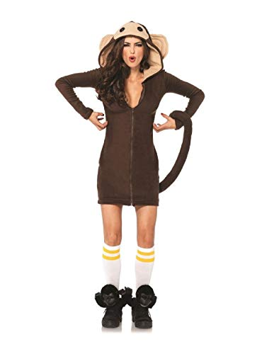 Cozy Monkey Dress Adult Womens Costume Halloween