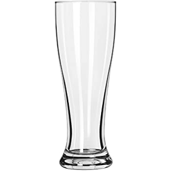 Libbey 16-Ounce Midtown Pilsner Glass, Clear, 4-Piece