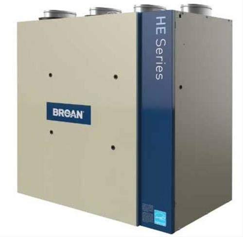 Broan HRV200TE 226 CFM Heat Recovery Ventilator with Top Ports