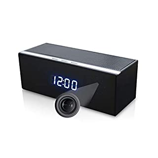 LizaTech Bluetooth Speaker Hidden IP Camera - 1080p Camera with Night Vision and Motion Detection