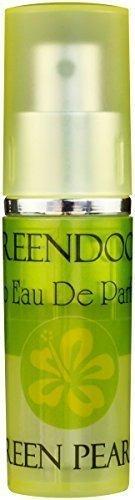 Greendoor Eau de Parfum (EdP) Green Pearls, Bio Parfüm, leichter fröhlicher Duft, Taschenzerstäuber mit Vaporisateur