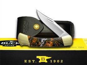 Buck 110 Folding Hunter Custom Pumpkin Seed Seed Seed Corelon Pocket Knives B00W9Z7RPU     | Modernes Design  0ad016