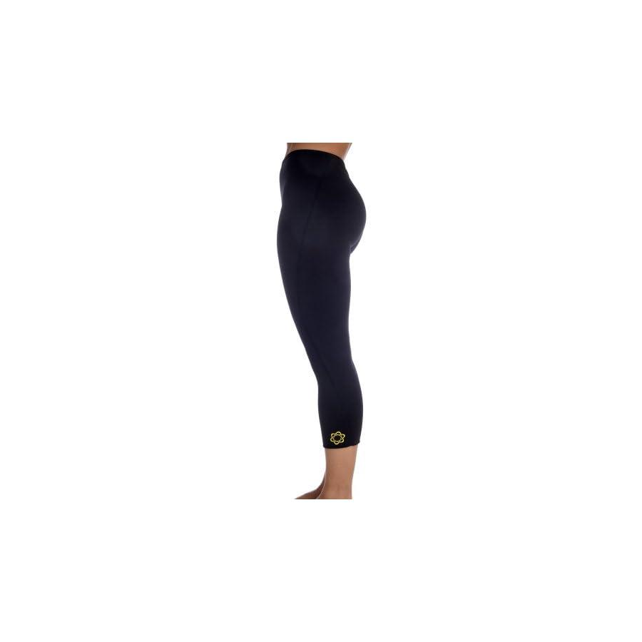 Zaggora Hot Pants Capri Black The Original Hot Pants Leggings