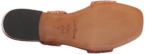 Cuoio Women's Calf Flat Stained Meucci Galt Sandal Sesto ZA8qnX