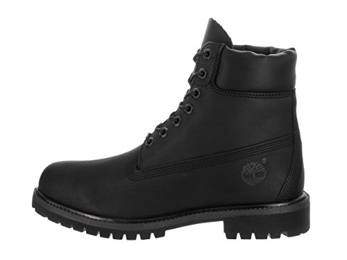 Black Men's Black Waterproof 6