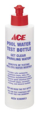 Ace Water Testing Bottle Pool & Spa