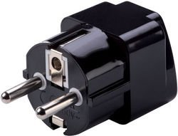 - Lewis N. Clark Grounded Schuko Adapter Plug