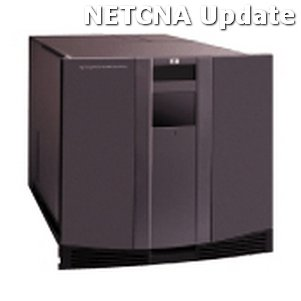 AD604B HP MSL6060 2 x LTO-2 Library w/ FC Router Compatible Product by NETCNA by NETCNA