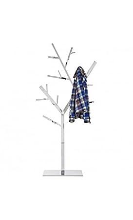 Kare Design Arbre Porte Manteau Design Inox Poli 200 Cm Amazon Fr