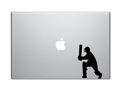 Batter Batsman Shot Score Wicket Car Tablet Vinyl Decal Cricket Player #1