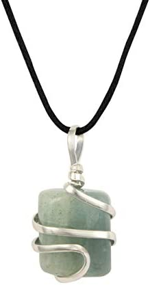 Aquamarine Gemstone Pendant Necklace Communication product image