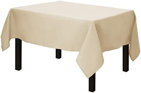 """Ivory POLYESTER 70x70/"""" SQUARE TABLECLOTH High Quality Wedding Party Catering"""