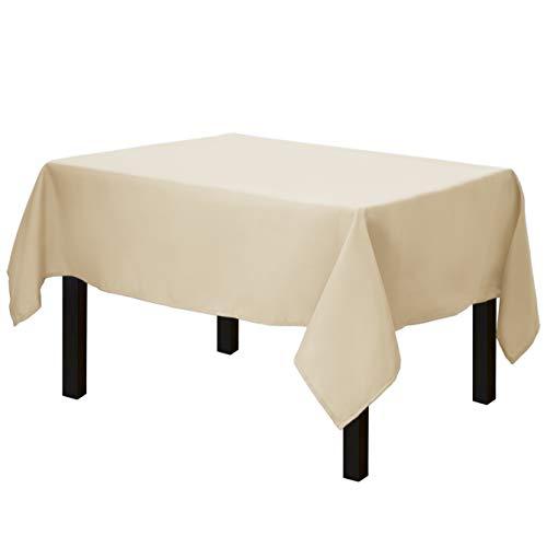 Beige Tablecloth - Gee Di Moda Square Tablecloth -