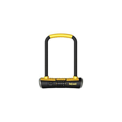 ONGUARD Bulldog Combo U-Lock, 4.5x9-Inch (On Guard Mini U Lock)