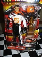 Tony Stewart #20 Home Depot Jakks Pacific Road Champs Action Figure Approximately 6 Inches Tall With Helmet & Plastic Trophy 2003 Edition (Figures Plastic Trophy)