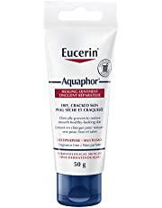 EUCERIN Aquaphor Multipurpose Healing Ointment for Extremely Dry, Cracked Skin (50g), Moisturizing Ointment and Hand Cream for Use After Hand Sanitizer or Hand Soap