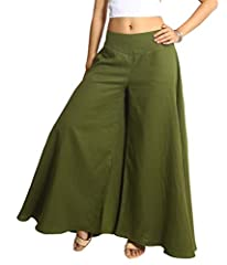 Tropic Bliss handmade clothing designs are perfect for anyone who wants comfort without compromising on style. This organic, boho design is eco-friendly and looks very natural. Earthy tones add to the bohemian chic look.Palazzo pants are a cl...
