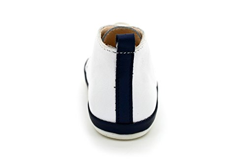 Scarpette bimbo sandali bambino bianco in vera pelle MADE IN ITALY