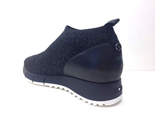 Mid Liu Jo B68029 Sneaker Scarpe Gigi 04b Sock Elastic Donna Tessuto Calza qrWtcrwUC