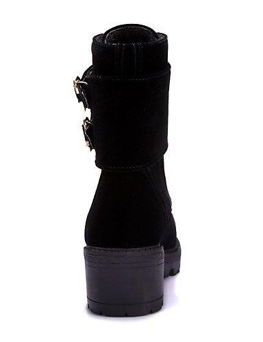 5 Uk8 Eu42 Negro Redonda Mujer Tacón us10 Moda Punta Vellón Black A us8 Eu39 Casual 5 Black La Cn39 Robusto Botas Xzz Vestido Uk6 De Cn43 Zapatos EUHqwwRA