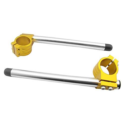 - Newsmarts 41mm Fork Clip-ons Handle Bars Motorcycle Regular Handlebar for Honda, Suzuki, Kawasaki, Yamaha, BMW
