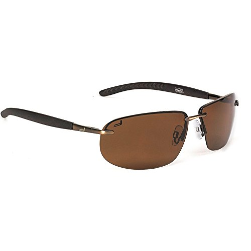 Coleman Unisex Sport Sunglasses, Matte Brown, - Sunglasses Coleman