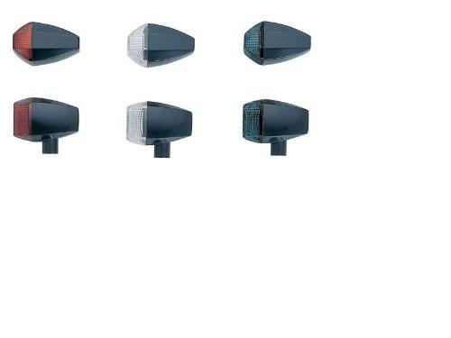ポッシュ(POSH) ウインカー ZRタイプ ブラック/スモーク スタンダードレンズ シングル球 ユニバーサル 193083-06 B005ILJINQ ブラック/スモーク