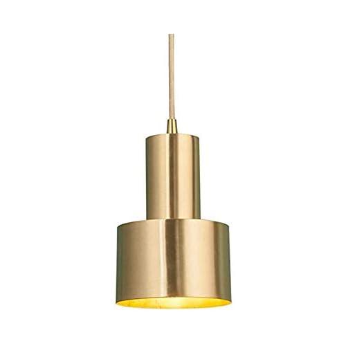 chollos oferta descuentos barato Hobaca E27 Oro Cobre Hierro de lujo Lámpara colgante nórdica moderna LED Lámpara colgante Lámparas para las luces del sitio de la cocina de la isla de la cocina