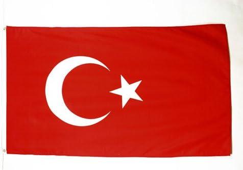 AZ FLAG Bandera de TURQUÍA 150x90cm - Bandera TURCA 90 x 150 cm: Amazon.es: Hogar