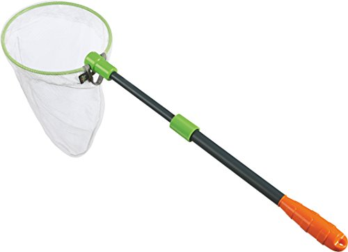 HABA Terra Kids - Scoop Net with Sturdy Adjustable Handle - Great for Land & Water