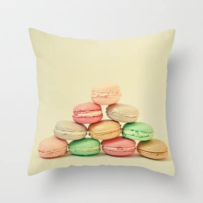 Society6 French Macarons Throw Pillow By Cassia Beck Kitchen Dining