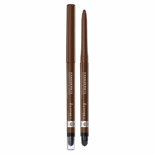(3 Pack) RIMMEL LONDON Exaggerate Waterproof Eye Definer - Rich Brown