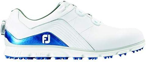 ゴルフシューズ ProSL Boa メンズ ホワイト/ブルー(18) 27 cm 3E 53291J 27.0 cm