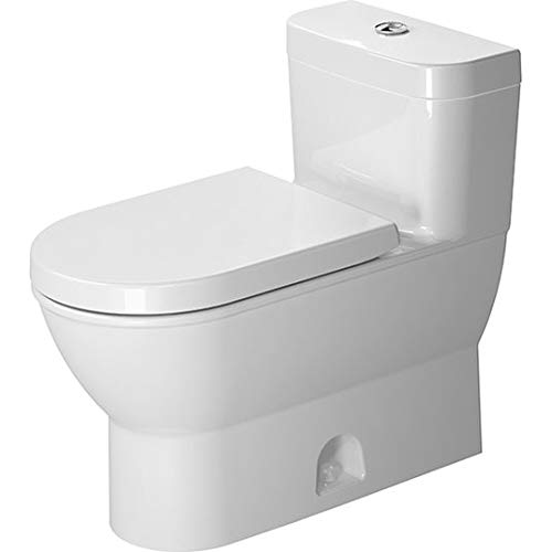 Duravit 2123010005 Darling New one piece toilet back to wall 1.28 gpf syphonic