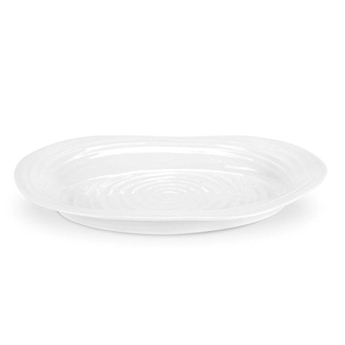 Portmeirion Sophie Conran  White  Medium Oval - Oval Platter Design