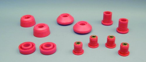 Prothane 7-227 Red Front Control Arm Bushing Kit ()
