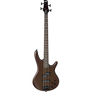 Ibanez GSR 4 String Bass Guitar Right Handed, Walnut Flat GSR200BWNF