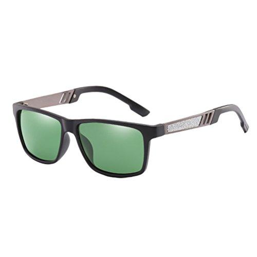 de Green Différentes Classique Couleurs Soleil Adapte Confort Lunettes Polarisées Dans Zhhlaixing D'usage Sunglasses Le de Verres des de Hommes Style Nez tq1TFA