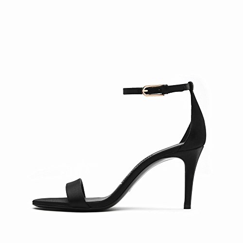 D'Été des DHG Talons 37 5 Chaussures à Hauts Chaussures Boucle Talons avec à Sandales Femmes E PPfwUqXHWx