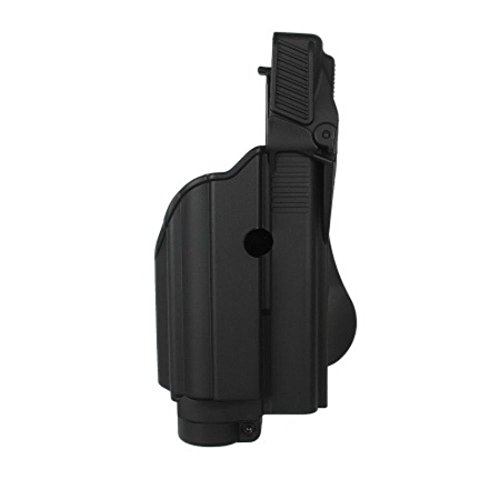 IMI Defense Tactical Roto Holster Paddle Light / Laser Glock Pistol 17,19,22,23,25,31 Handgun Gen 4 Compatible