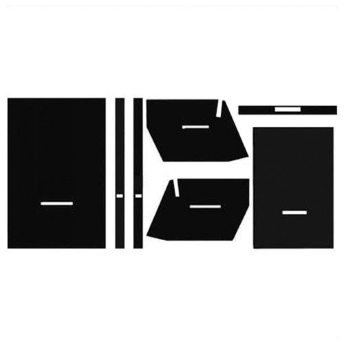 All States Ag Parts Cab Foam Kit with Headliner Black Oliver 1950 1755 2150 1955 1655 2255 1555 1550 1750 1850 1650 1855 2050 1955 Wiper