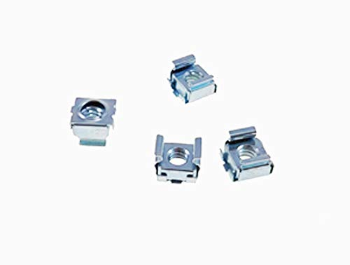 3//8 Panel Hole Size BFC7941-1224 4 Pack 12-24 Self-Retaining Cage Nuts
