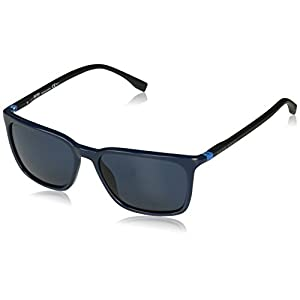 Hugo Boss 0959/S Men's Rectangular Sunglasses, 56mm