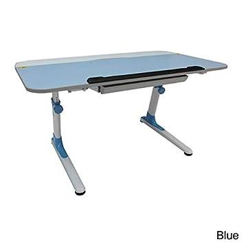 ORE International S-MC120PNK Kid s Ergonomic Desk with Keyboard Tray, Pink