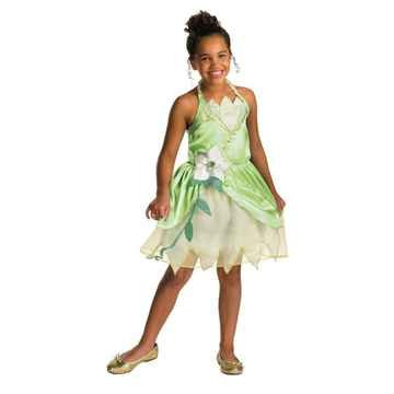 The Princess And The Frog Costumes (Classic Princess Tiana Child Costume - X-Small)