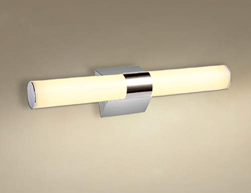 Letsun LED Vanity Light Long Tube Light Fixture Bathroom Mirror Light, Acrylic, 12W, Warm White ()