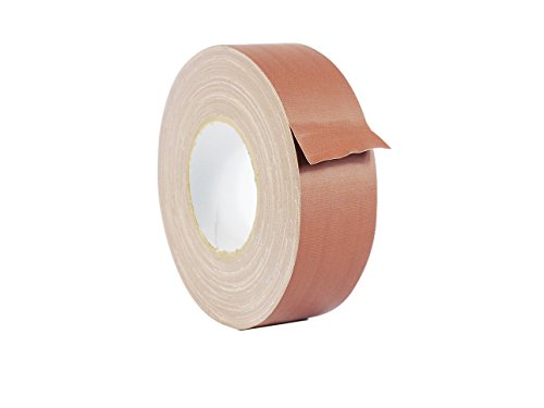 WOD CGT-80 Brown Gaffer Tape Low Gloss Finish Film, Residue Free, Non Reflective Gaffer, Better than Duct Tape (Available in Multiple Sizes & Colors): 2 in. X 60 Yards (Pack of 1) -