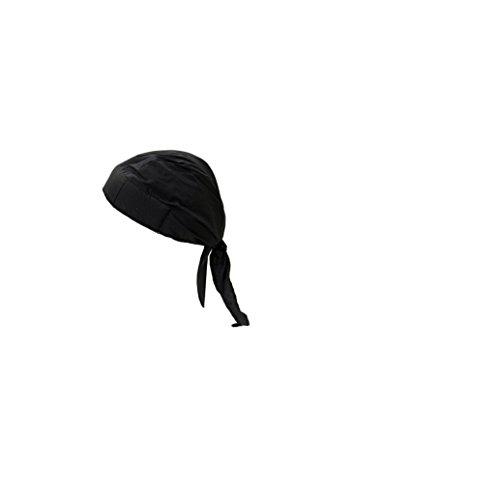 f Nougies Tie Hat Doo Rag, Black, 1 each (Tuff Nougies Doo Rag)