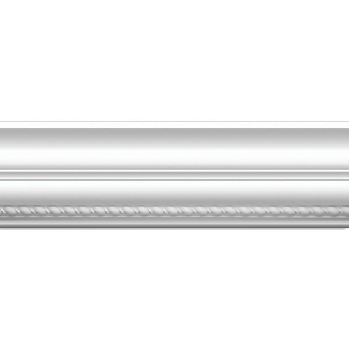 Focal Point Moulding - Focal Point 23620 Rope Crown Moulding 5 7/8-Inch by 8 Foot, Primed White, 6-Pack